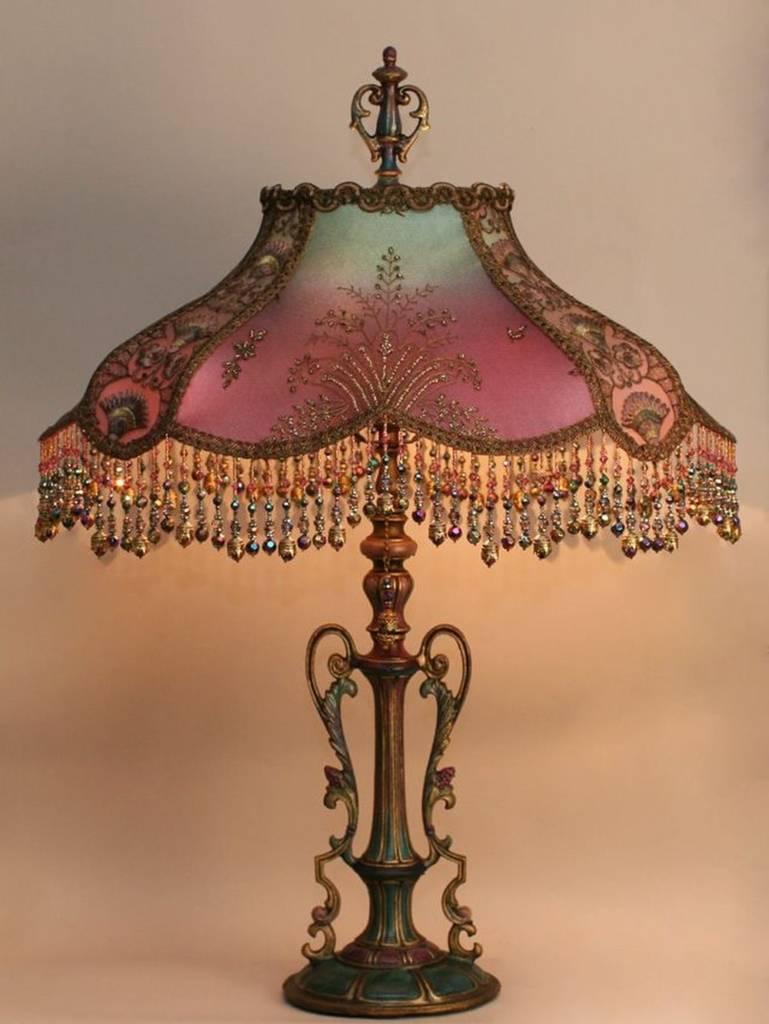 викторианская лампа