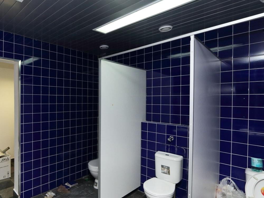 ремонт туалета в бизнес центре