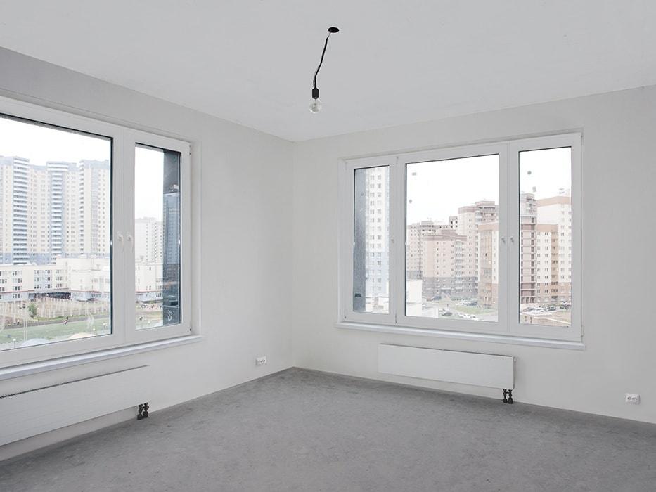квартира с белой отделкой