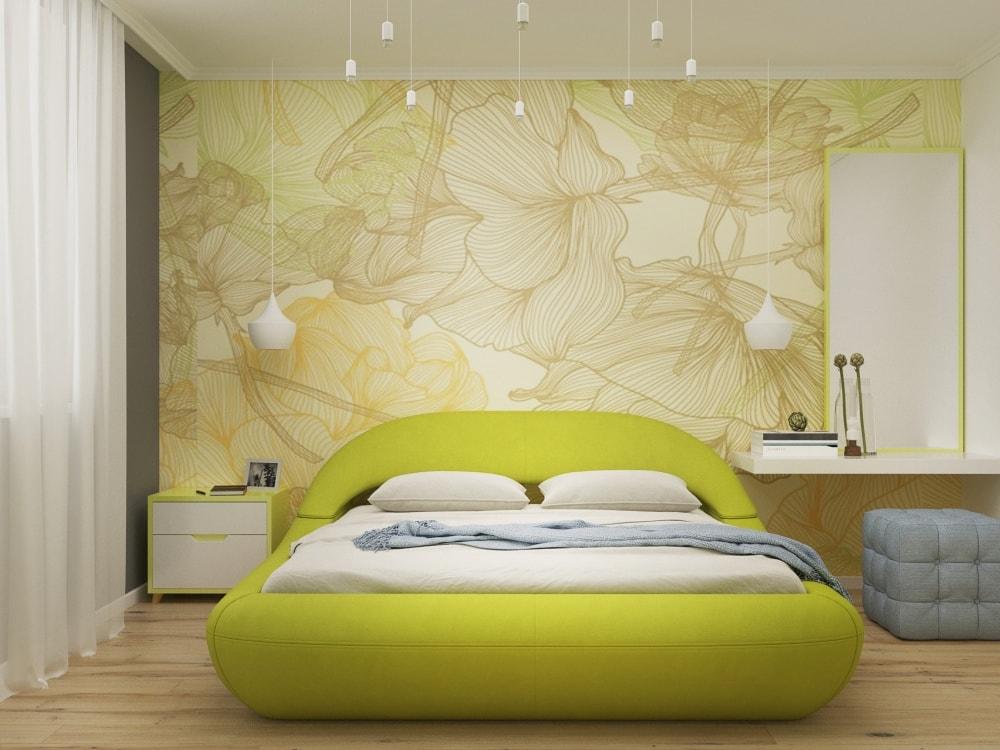 кровать в стиле поп-арт