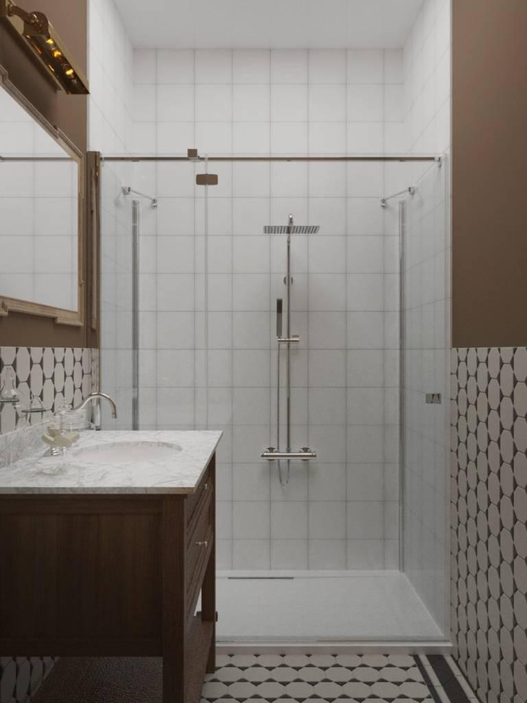 ванная комната в английском стиле фото