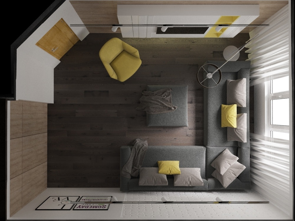 лофт в квартире