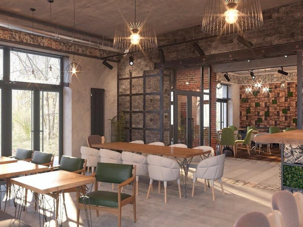 кафе бар дизайн