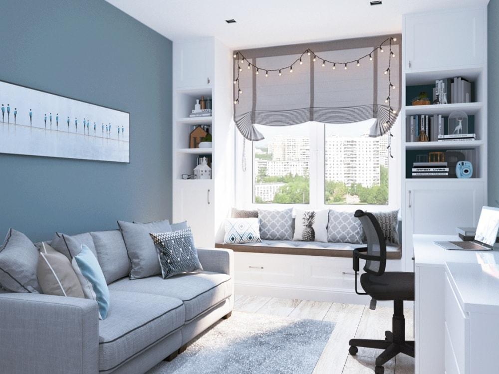 гостевая комната в квартире