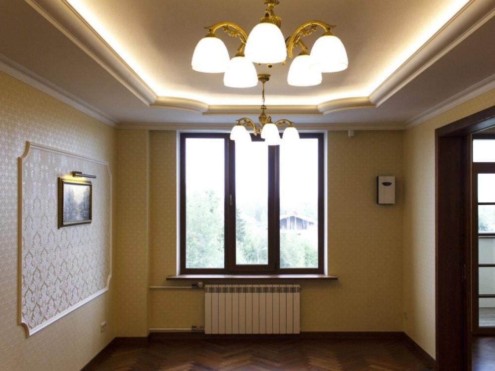 квартира в дворцовом стиле