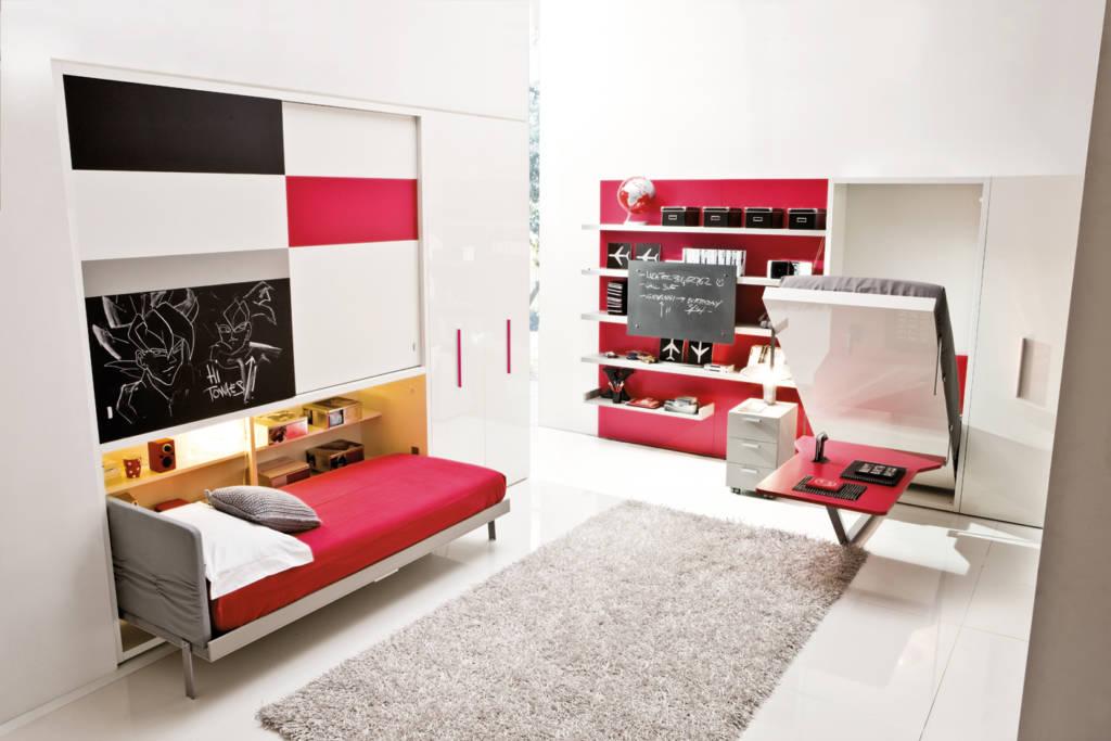 кровать шкаф для детской комнаты