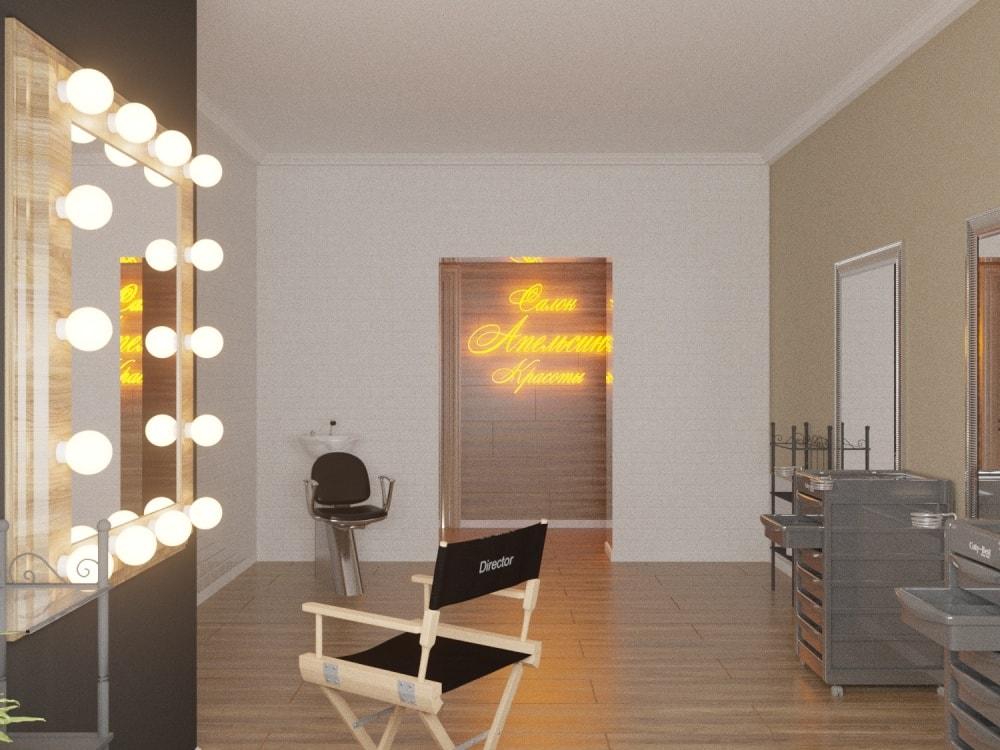 салон красоты дизайн