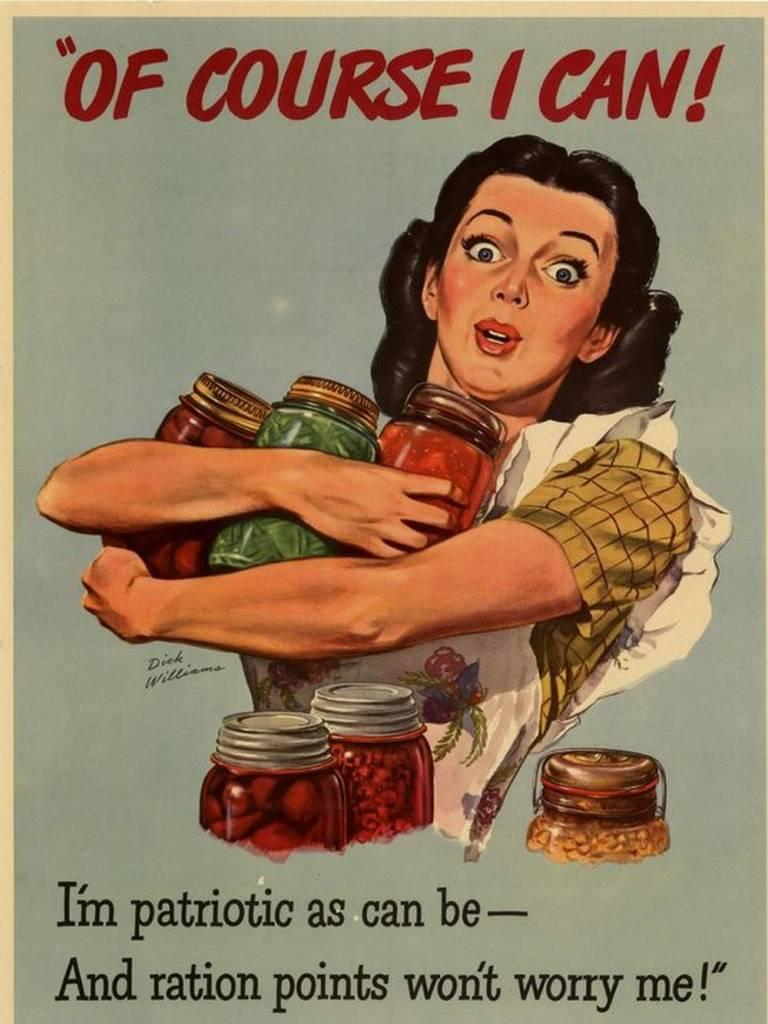 ретро плакат с рекламой