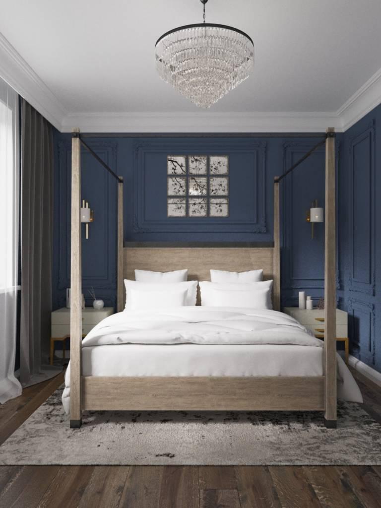 английская спальня фото