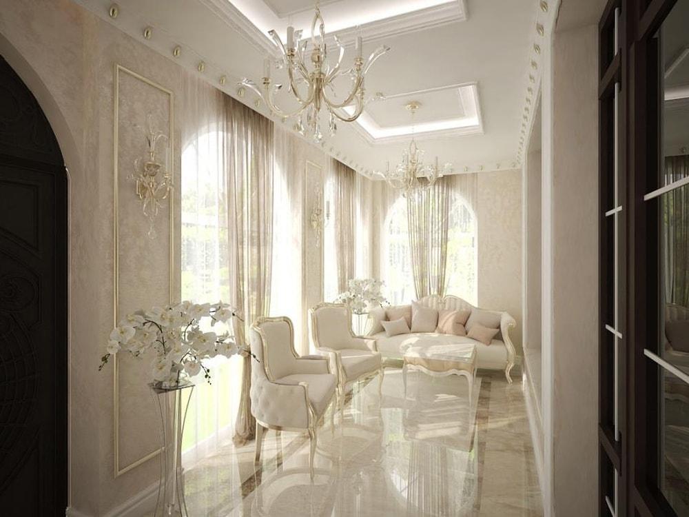 веранда в дворцовом стиле