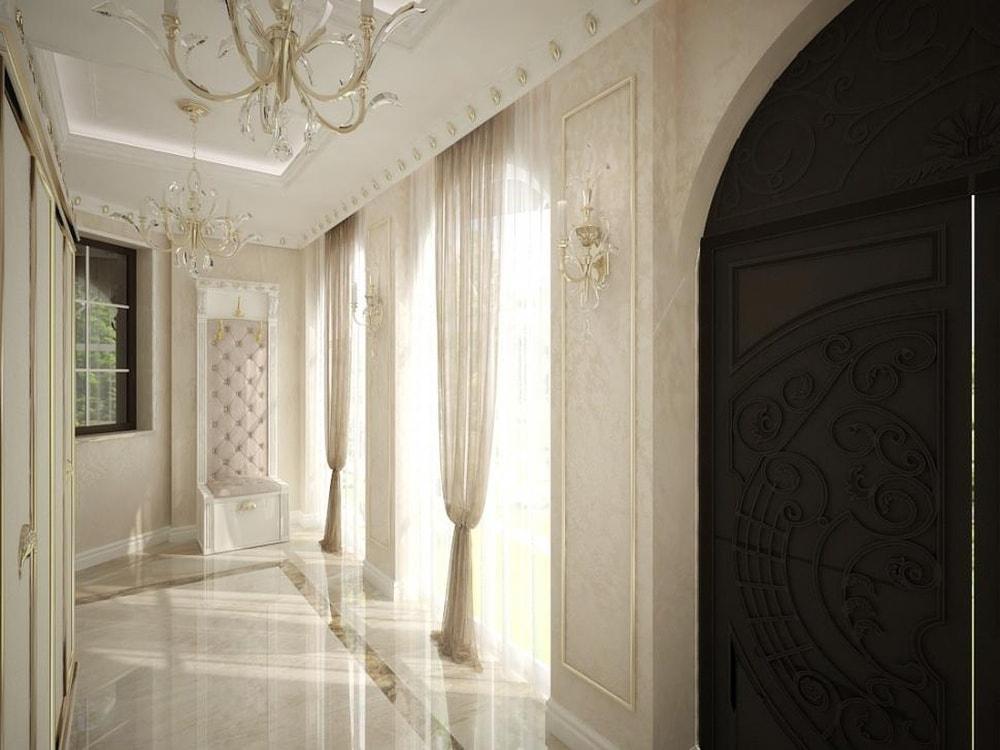 коттедж в дворцовом стиле