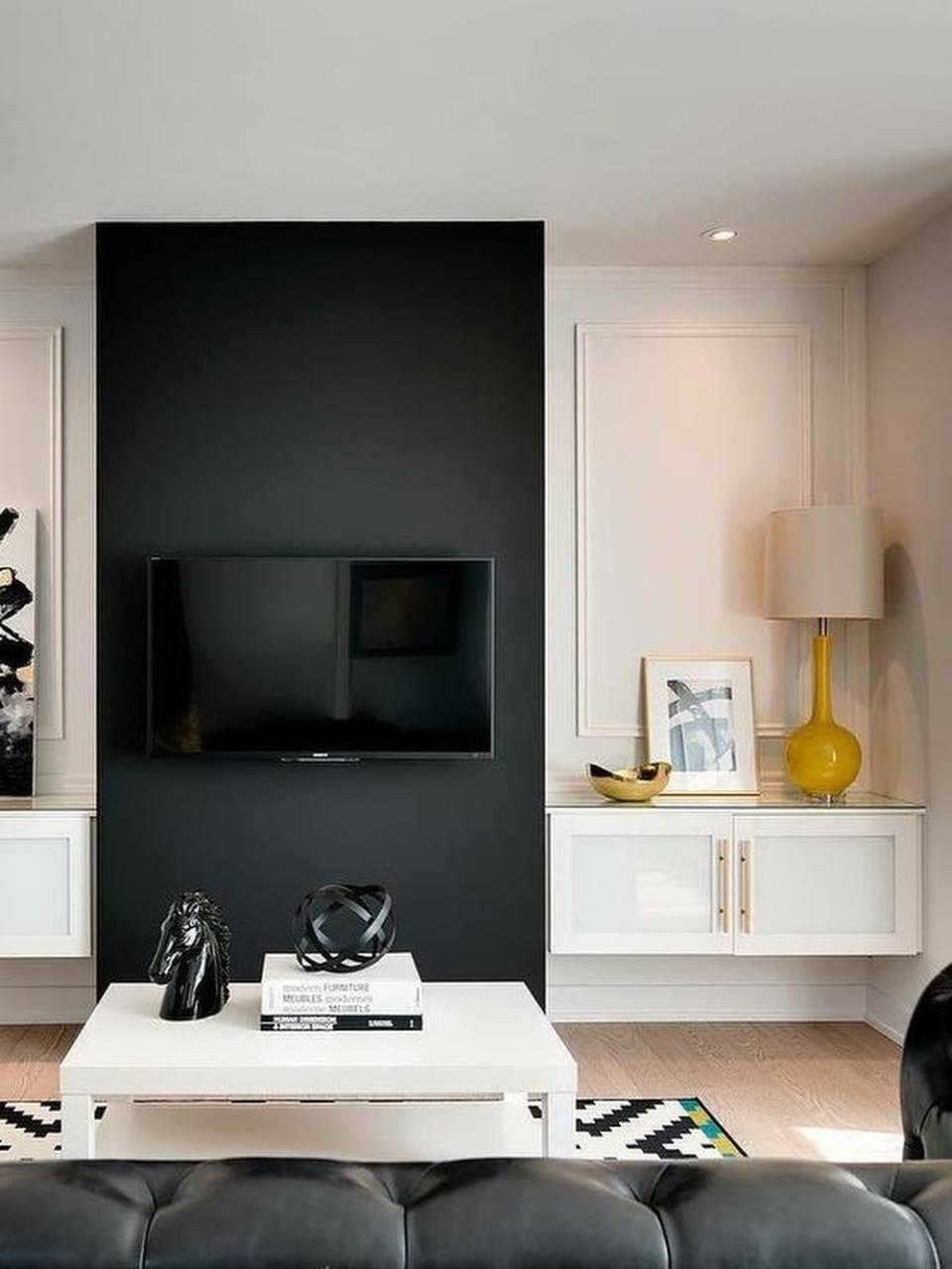 ТВ в интерьере