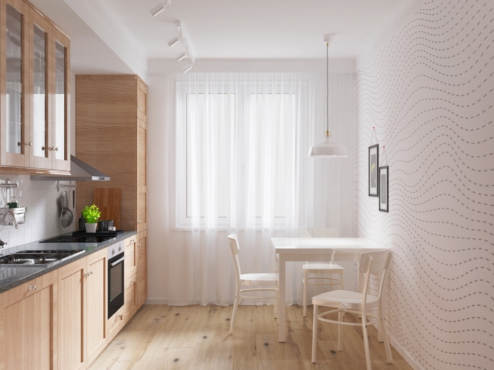 кухня в скандинавском стиле фото