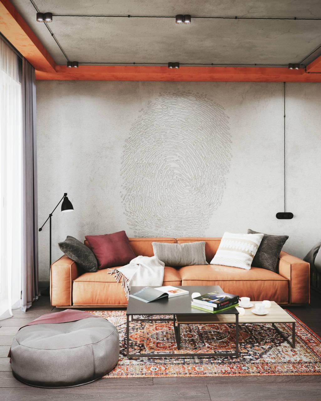 диван с подушками