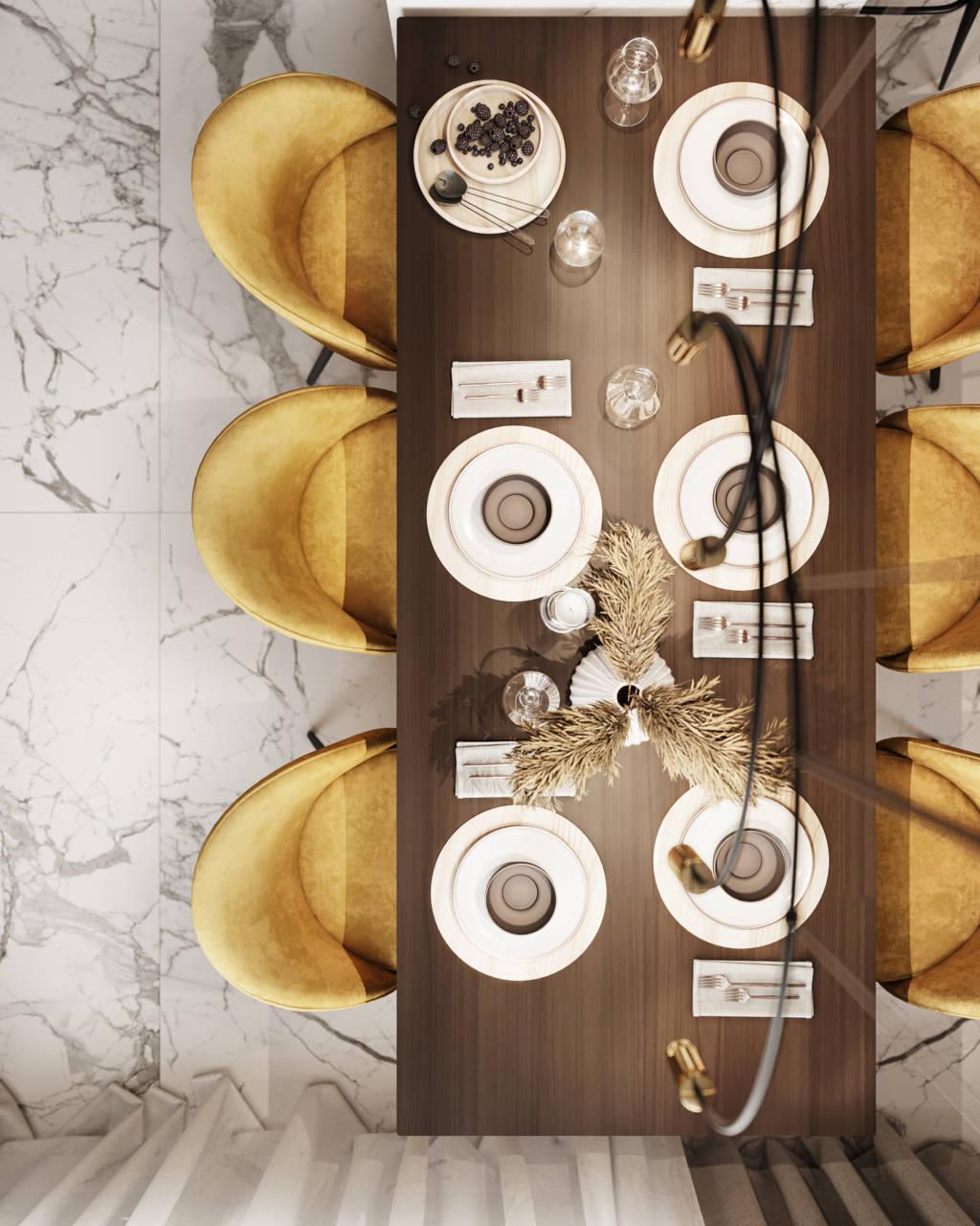 Стол большой обеденный деревянный