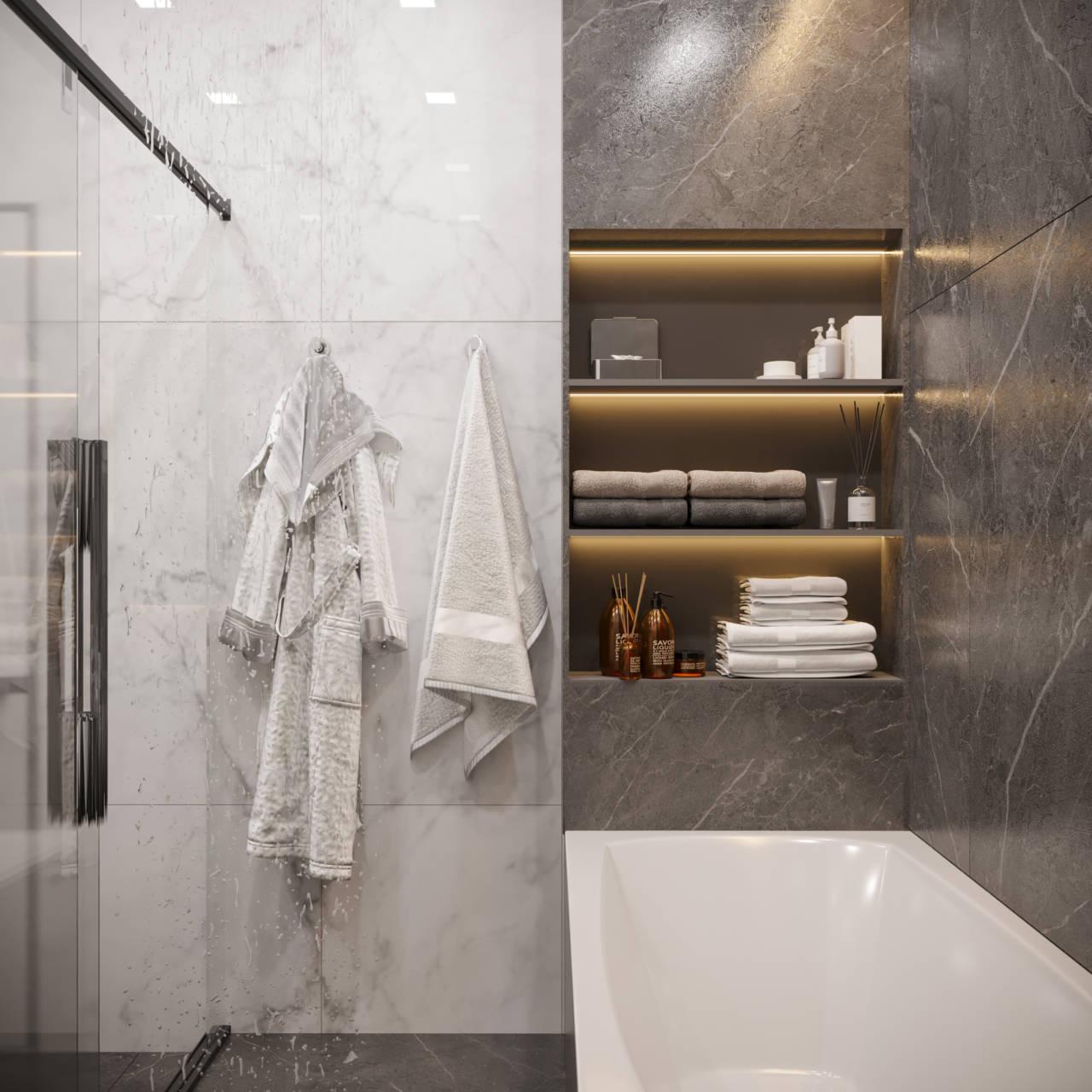 ванная эклектика