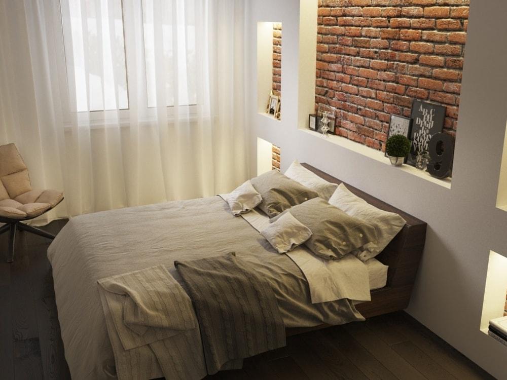 интерьер комнаты спальни фото