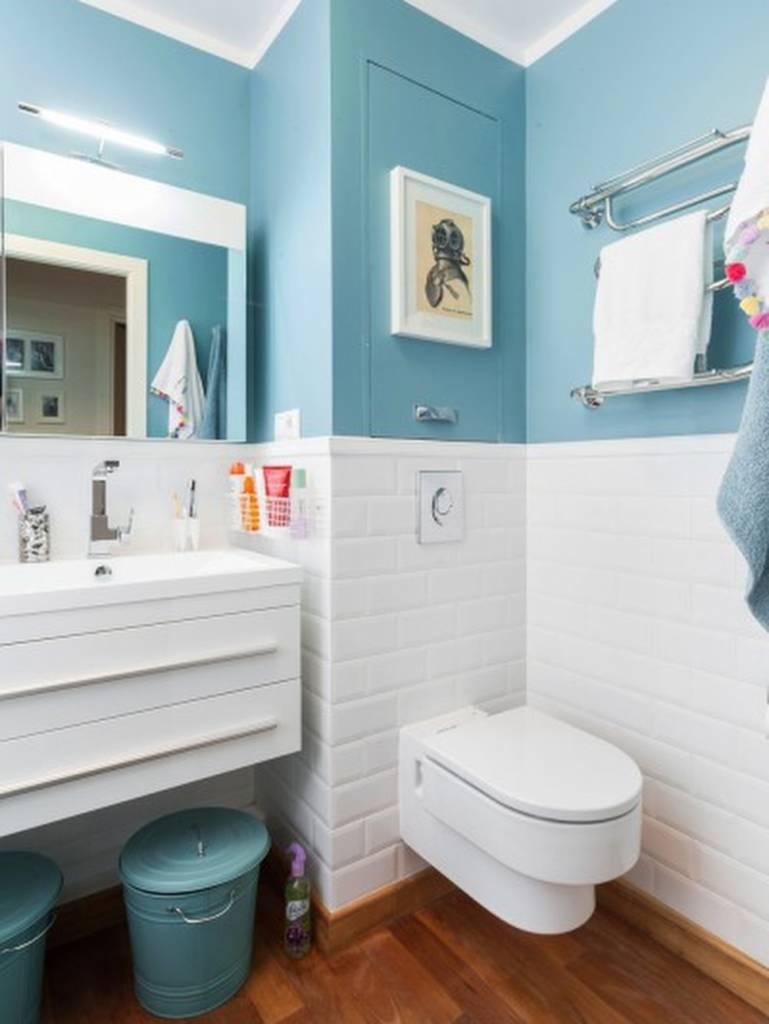 краска в ванной комнате