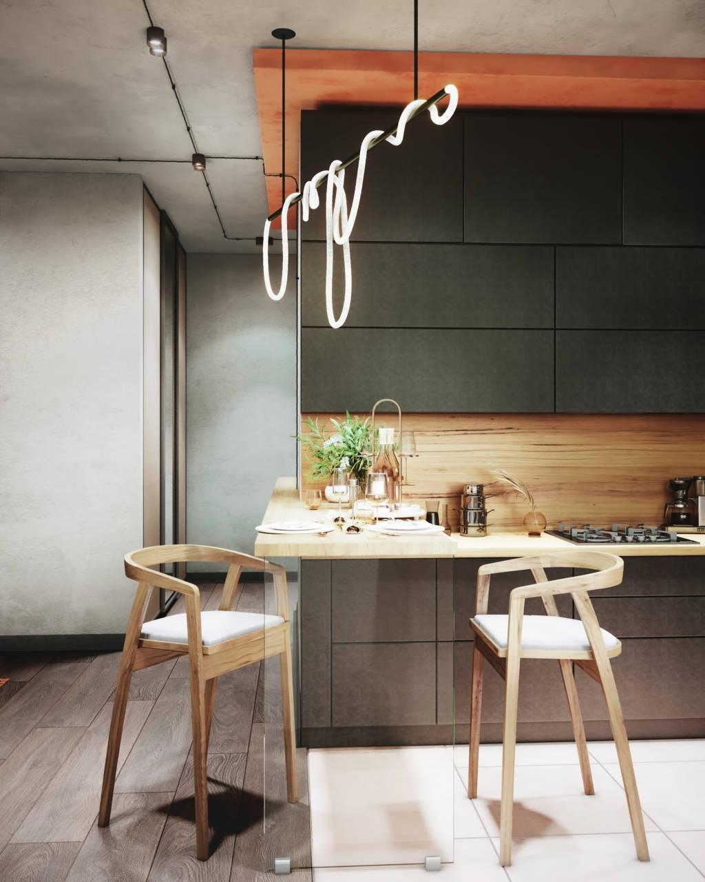 кухня апартаменты