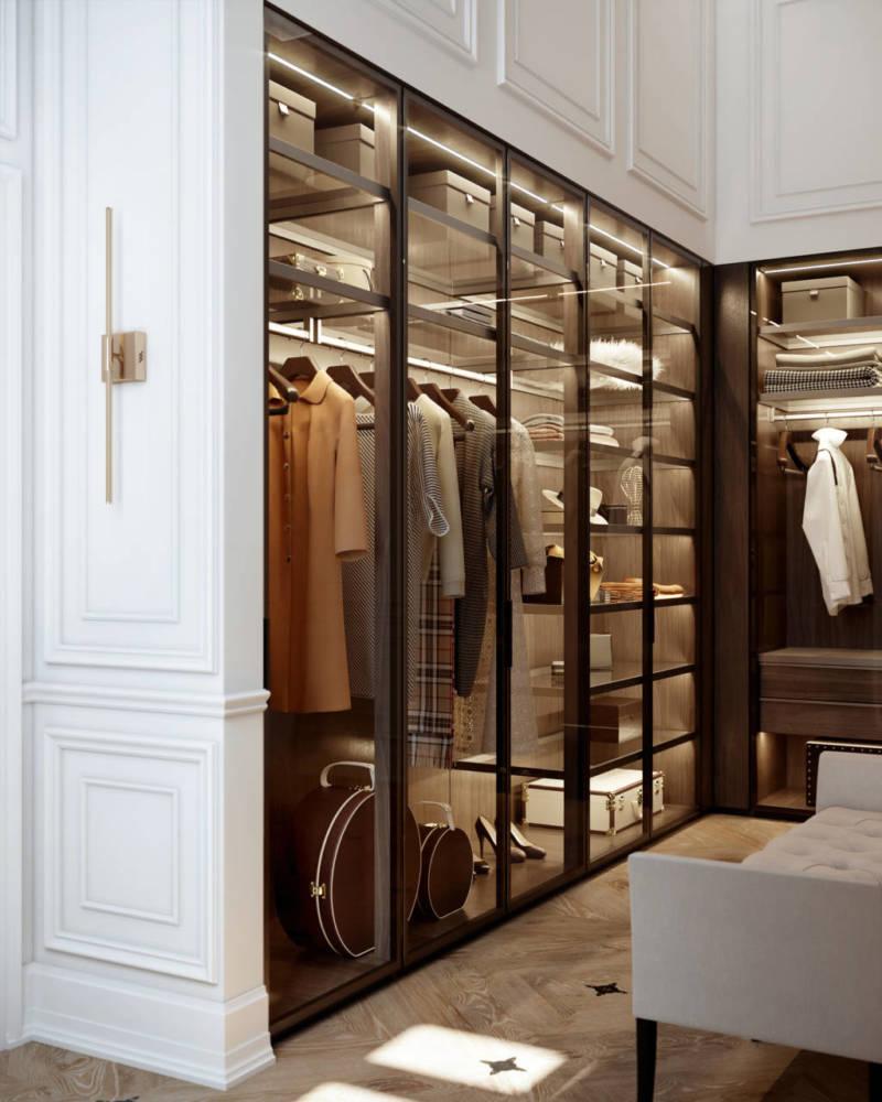 Стеклянный гардероб