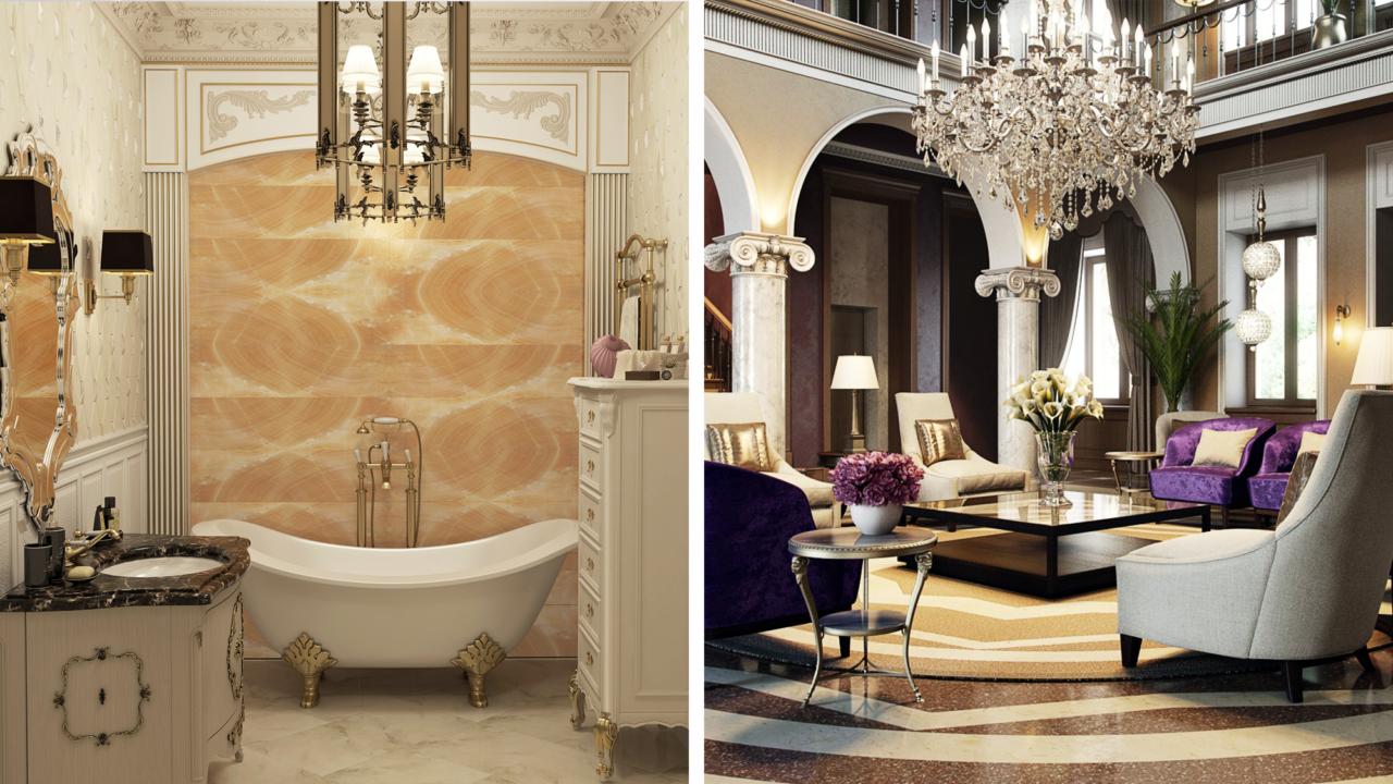 Топ 5 дворцовых стилей в интерьере