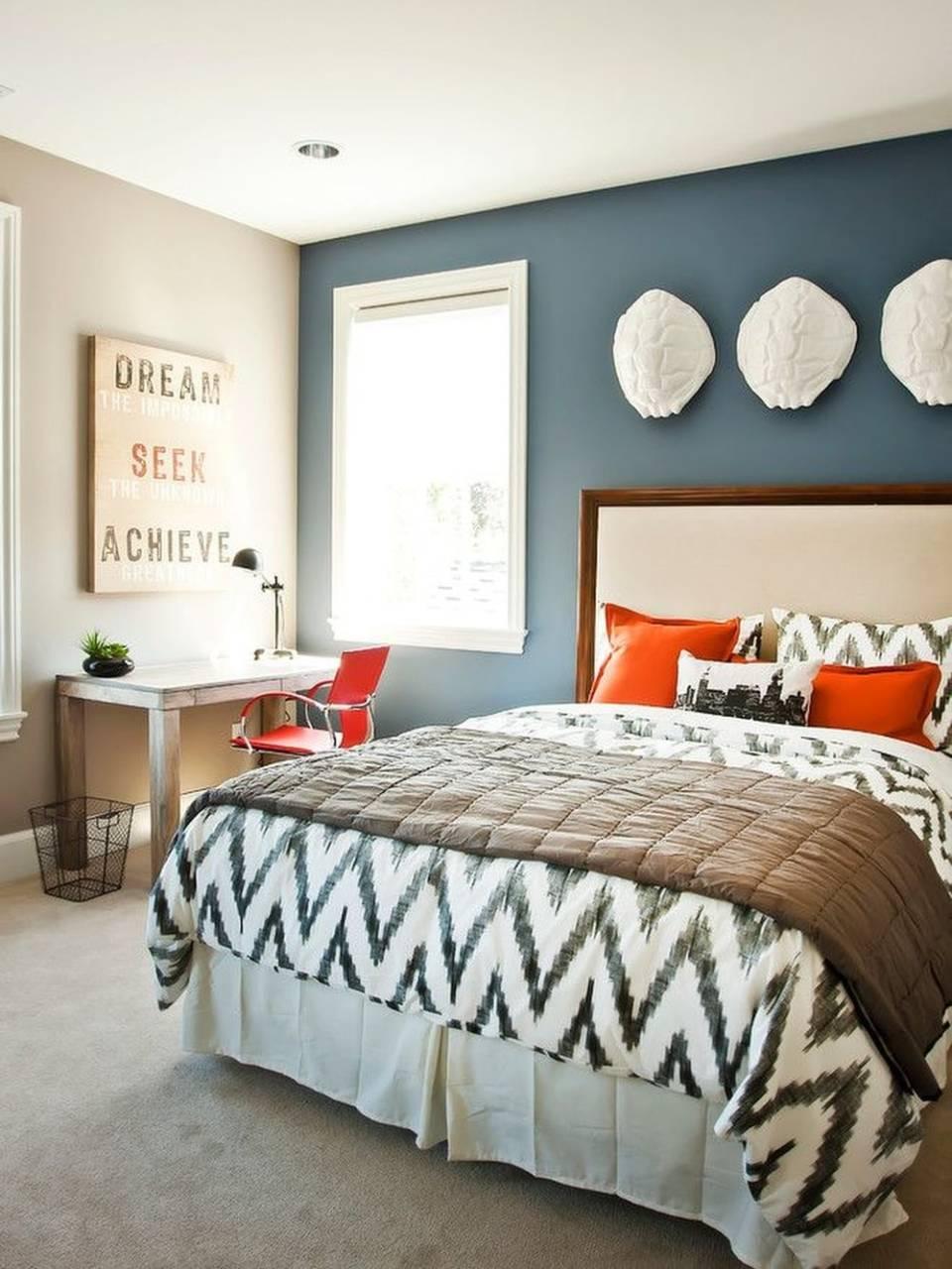 интерьер спальни в стиле