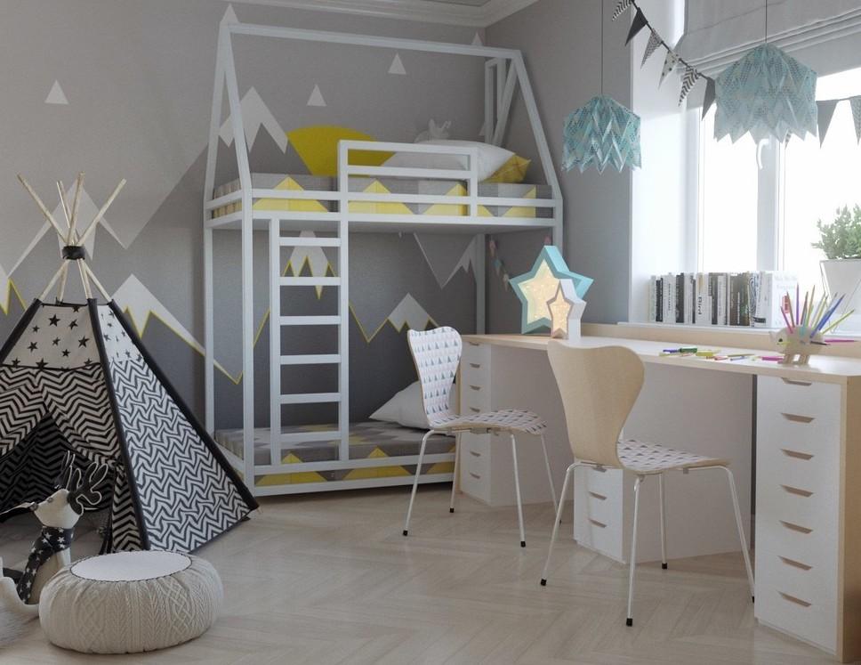 Дизайн интерьера для девочек. Часть 1