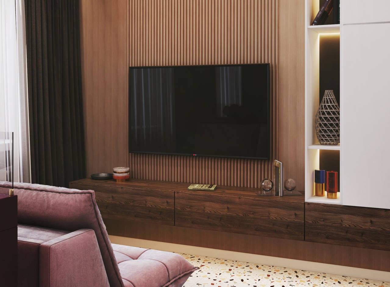 телевизор в студии