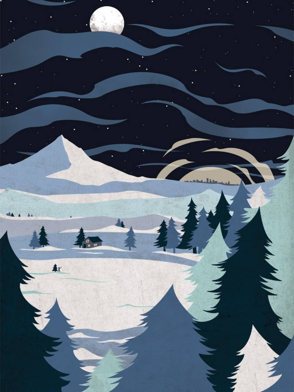 Постеры на зиму